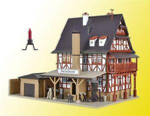 Beleuchtung H0 Bausatz Fabrikneu Vollmer 43616 Reisebüro mit Inneneinrichtung