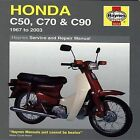 Honda C50, C70 and C90 Service and Repair Manual: 1967 to 2003 by Jeremy Churchill, Mervyn Bleach (Paperback, 2006)