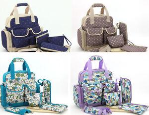 Newpretty 6Pcs Baby Diaper Nappy Bag Backpack mummy bag backpack(LXEM115)