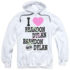 Beverly di Felpa Love Hills 90210 Brandon I Felpa Dylan cuore cappuccio con FXxwFqfY