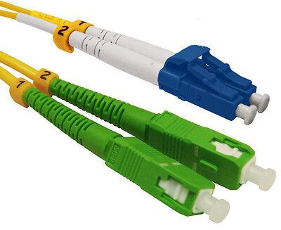 5691 Fiber Patch Cord 3 Meter LC//UPC–SC//APC Duplex Single Mode 9//125