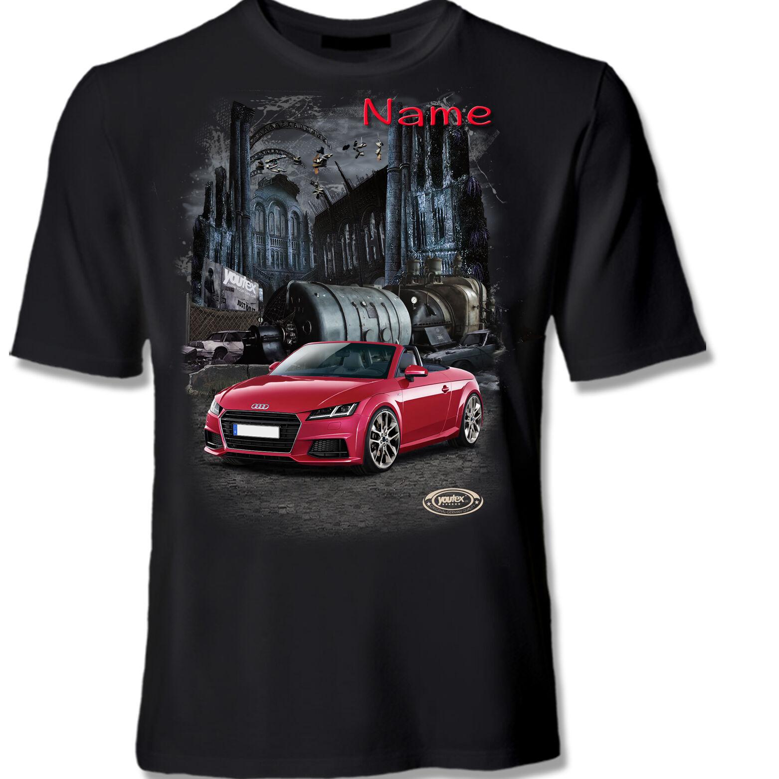 AUDI TT Roadster Cabrio T Shirt Shirt T-Shirt original YOUTEX