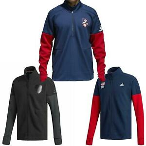 adidas-USA-VB-Mens-Jacket-Zip-Up-Warm-Up-Track-Top-RRP-45-Sale-Price-All-Sizes