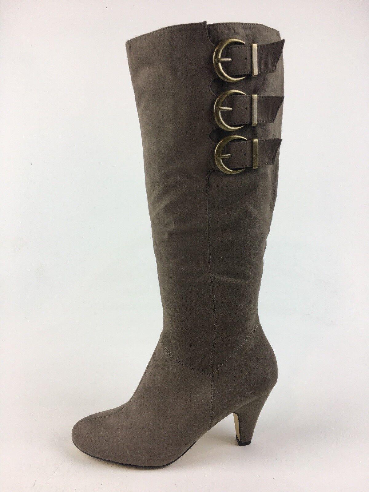 Bella Vita Transit II Knee High Boot Size 7M, Grey Fabric 1219