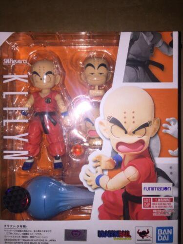 New Bandai Tamashii S.H Figuarts Dragonball Z Klilyn Krillin USA