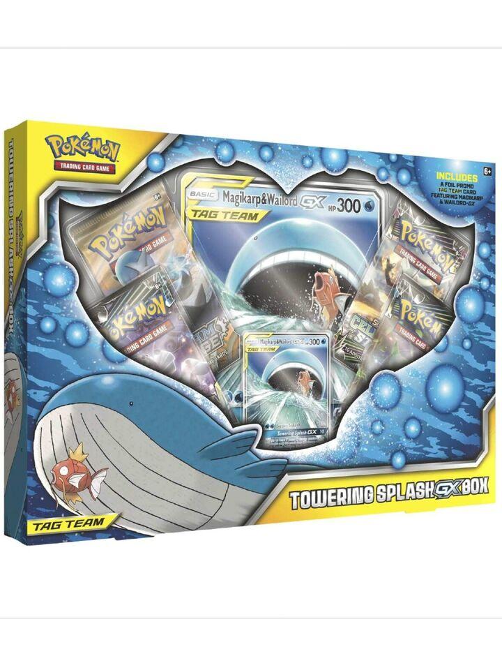 Tag Team Jumbo GX Box pokemon kort
