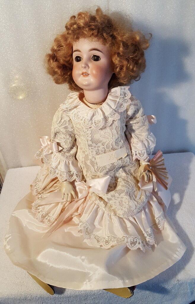 Antique Bisque bambola -  Karl Hartuomon  negozio outlet