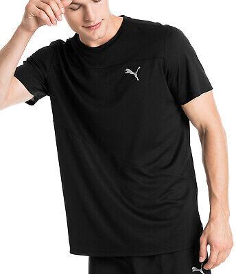 Puma Ignite Short Sleeve Mens Running Top - Black