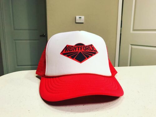 Gi Joe Night Force Cobra Trucker Hat Red And White Snapback New Classified