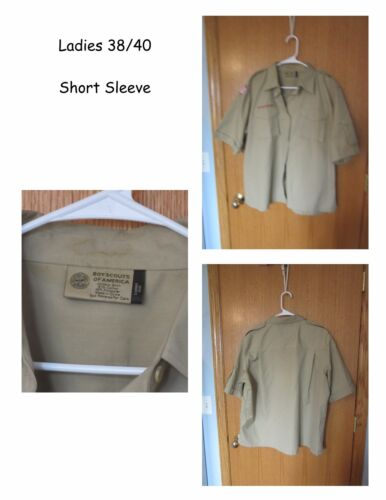 Boy Cub Scouts of America Tan Shirts LADIES WOMEN Your Choice of Style