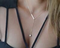 Stylish Jewelry Crystal Pendant Choker Chunky Statement Bib Chain Necklace