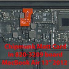 "EFI BIOS firmware Matt Card MacBook 12/"" 2017 A1534 emc3099 820-00687"