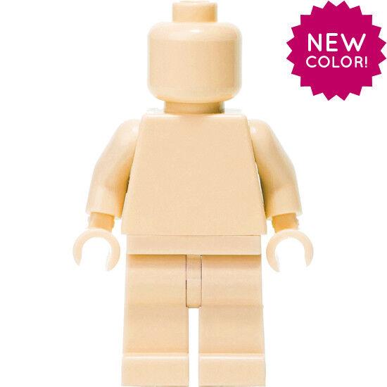 LEGO Light Flesh MONOFIG (Monochrome Minifigure)
