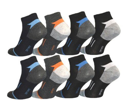 12 à 48 Paire Femmes Hommes Sport Loisirs Chaussettes Sneaker polarzip Coton