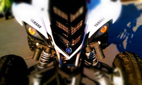 Yamaha Raptor 700//450//350 YELLOW EYE/'S HeadLight Covers RuKind ORIGINAL