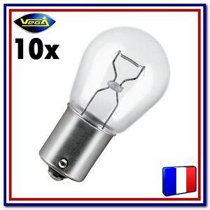 """10 Ampoules Vega® /""""Maxi/"""" W21W T20 WX3x16d 12065 Arrière Stop Recul Frein 12V"""