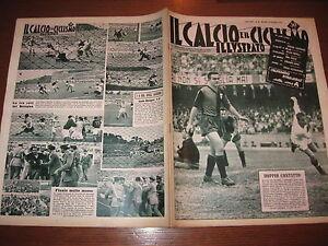 Calendario Calcio Padova.Dettagli Su Il Calcio E Ciclismo Illustrato 1957 38 Calendario Serie A Hamrin Juve Padova
