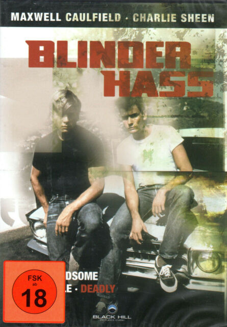 Blinder Hass , DVD , 100% uncut , Neuware , Charlie Sheen , Boys next door