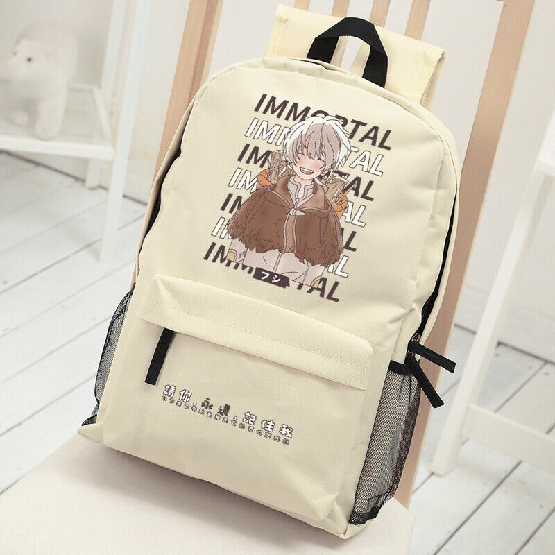Anime To Your Eternity Casual Fashion Backpack Shoulders Bag Schoolbag Unisex