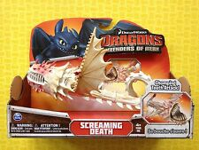 HOW TO TRAIN YOUR DRAGON SCREAMING DEATH LARGE DRAGON ACTION FIGURE