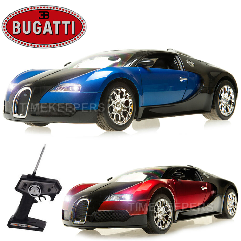 1 10 Bugatti Veyron RC Radio Remote Control Rechargeable Car EP RTR