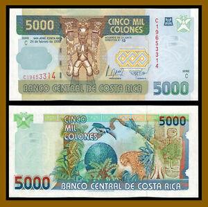 Costa-Rica-5000-5-000-Colones-1999-P-268-Serie-C-Unc