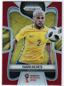 85f99d38365 2018 PANINI PRIZM WORLD CUP SOCCER RED PARALLEL CARDS ( 1-300) U ...