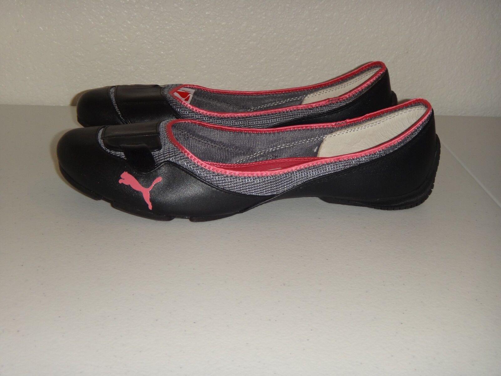 prezzi bassissimi PUMA donna I love Driving Ballet Flat Sport Sport Sport scarpe nero Leather rosa US Dimensione 11  vendita scontata online di factory outlet