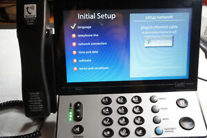 Large Touch Screen >> Details About Ultratec Captel 2400i Bt Bluetooth Wifi Large Touch Screen Captioning Telephone