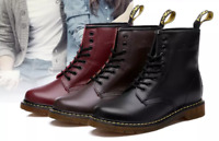NEW Dr Martens 8-Eye Classic Airwair Leather Canvas Ankle Boots Unisex UK 3-11