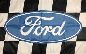 Ford Shelby Cobra SVT Racing 3x5 ft Flag Car Garage Banner