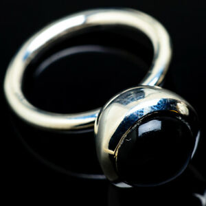 Black-Onyx-925-Sterling-Silver-Ring-Size-7-5-Ana-Co-Jewelry-R14933F