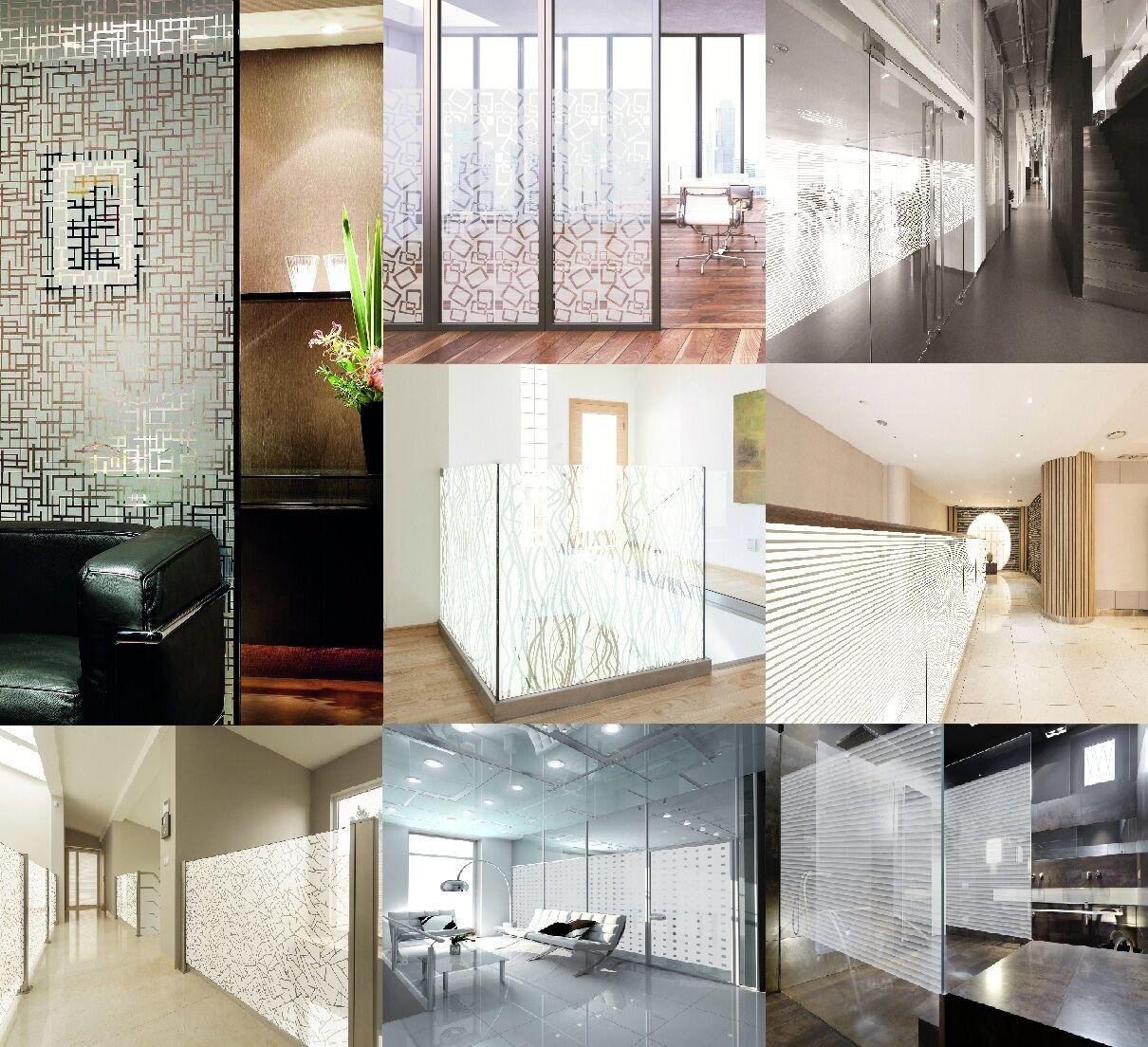 6,67   m² premium de projoección visual lámina cristal esmerilado lámina diseño Diapositivas autoadhesivo