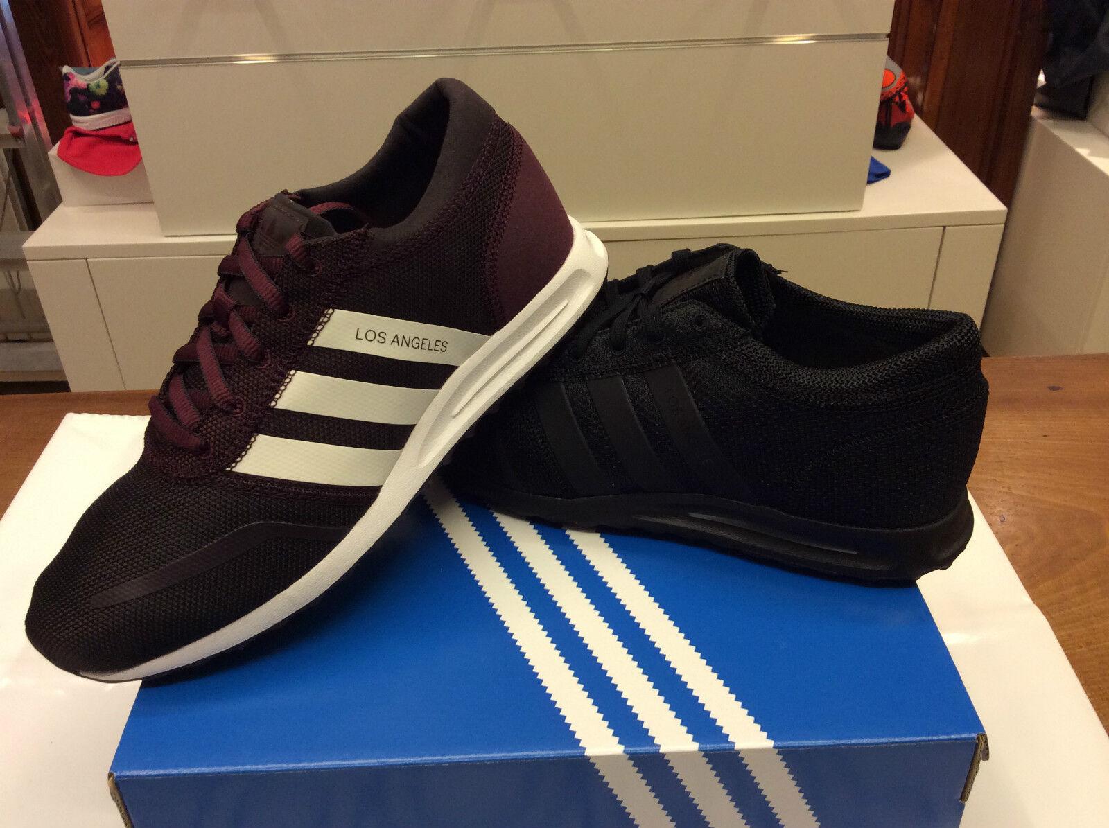 Herren Schuhe adidas Los Angeles art. S31535 (schwarz) - S75995 (bordeaux)
