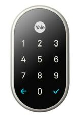 USE Lockey USA M210OILDC Mechanical Keyless Push-Button Lock Deadbolt in Black