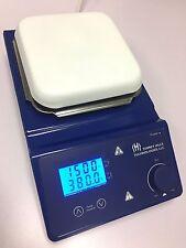 T2-HS380 Lab Mixer Hot Plate Magnetic Stirrer 380C 1500 RPM LED Display