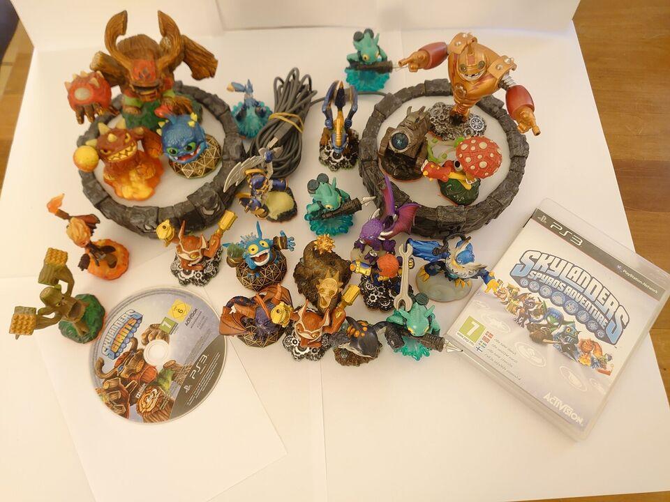 Skylander Giants, Superchargers, Spyro og Just Da