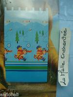 Rideau A Pattes Winnie Et Tigrou 140x250 Cm Neuf