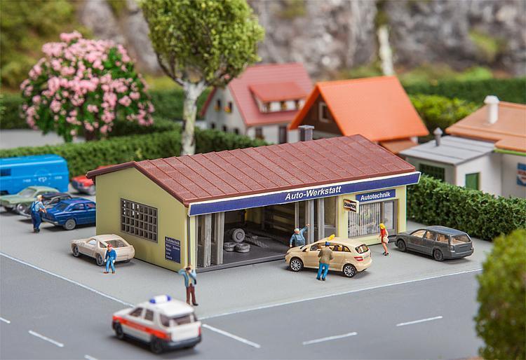 Faller 232336-1//160 N Metzgerei//Bäckerei Neu