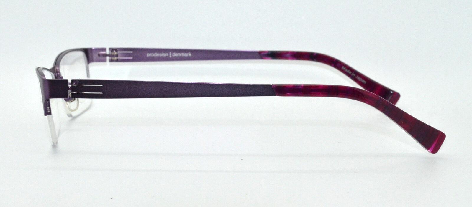768b8f43c87 NEW 100% Authentic PRODESIGN DENMARK 1247 c.3531 Purple Eyeglasses Frames