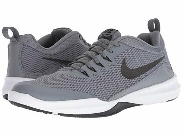 Men's Nike® Legend Trainer NWOB 924206 020 GreyBlk Wht Training Shoes Size 11.5