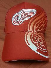 127bf0e0862 NHL Carolina Hurricanes Mens Prevail Mesh Back Stretch Flex Fit Hat ...