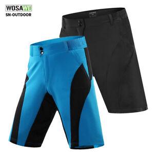 Men s Mountain Road Bike Shorts Loose Casual Cycling Short Pants MTB ... f065a4f72