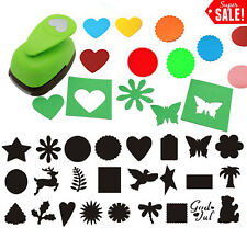 """2"""" Inch Paper Lever Craft Punch Tool Scrapbooking Cards SELECT YOUR DESIGN!"""
