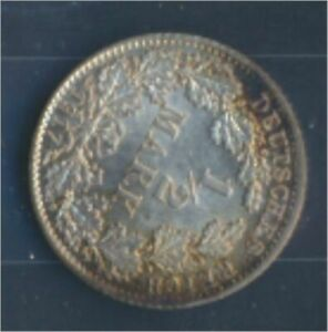 German-Empire-Jagernr-16-1917-D-UNC-Silver-1917-1-2-Mark-large-Imperial-7859368
