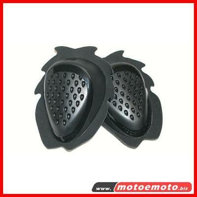 Lightech Slider Dropper Saponette Per tuta moto Nere Universali Black