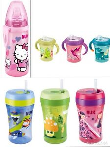 NUK-Easy-Learning-Cup-200ml-Fun-Cup-300ml-Hello-Kitty-Active-Cup300ml-neu-amp-ovp