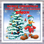 KIDS DONALD DUCK CHRISTMAS CARDS personalised with any RELATIONSHIP /& NAME
