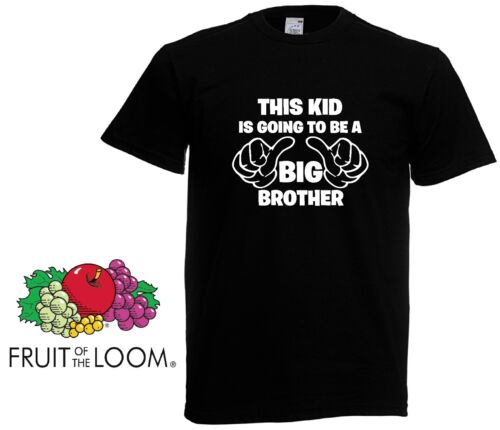 This Kid Is Going To Be A Big Bro Big Brother Gift Boys Kids Funny T shirt
