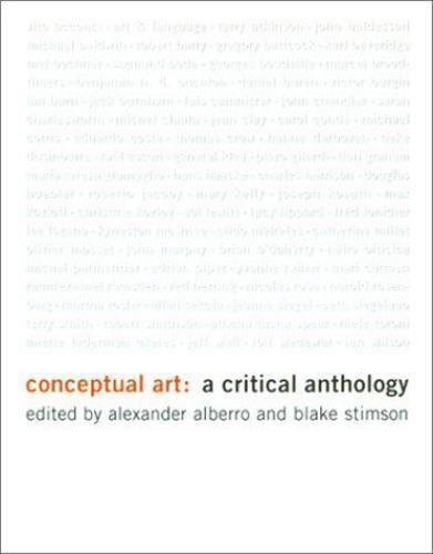 Conceptual Art: A Critical Anthology
